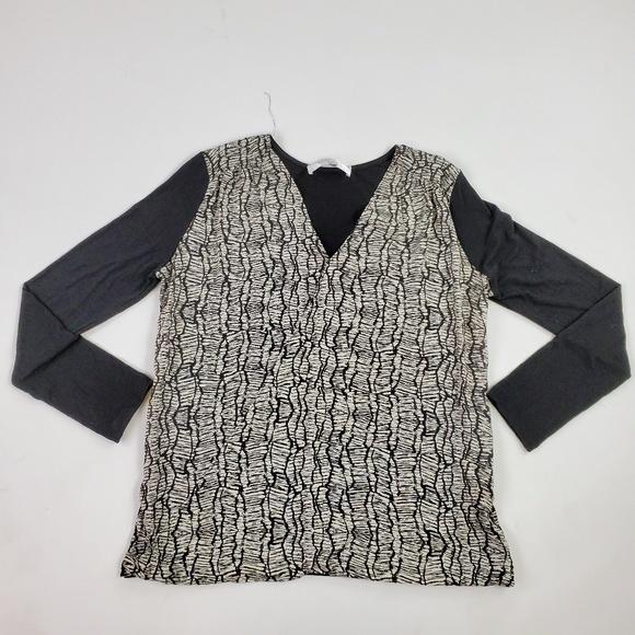Amour Vert Tops - Amour Vert Blouse Size L, 3/4 Sleeve--NWOT $48